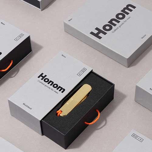 生活中常用的现代奢侈品包装设计