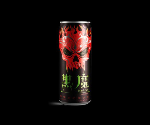宏宝莱功能饮料产品包装设计