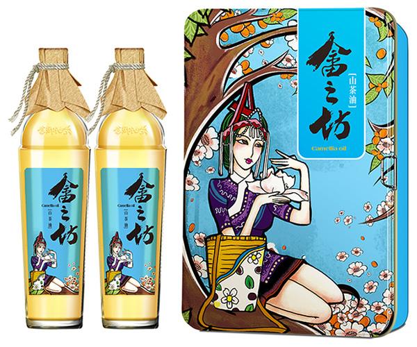 浙江景宁畲之坊 山茶油包装设计