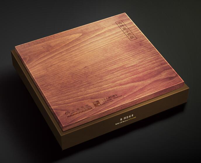 三昌九鼎工艺品收藏礼盒包装设计