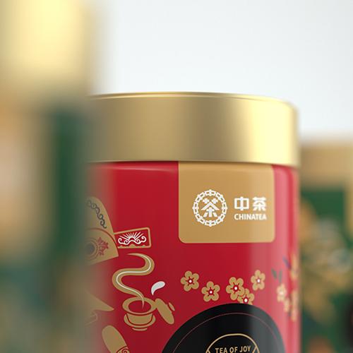 中茶X西林 | 人生大悦 开心饮茶(中茶系列包装设计)