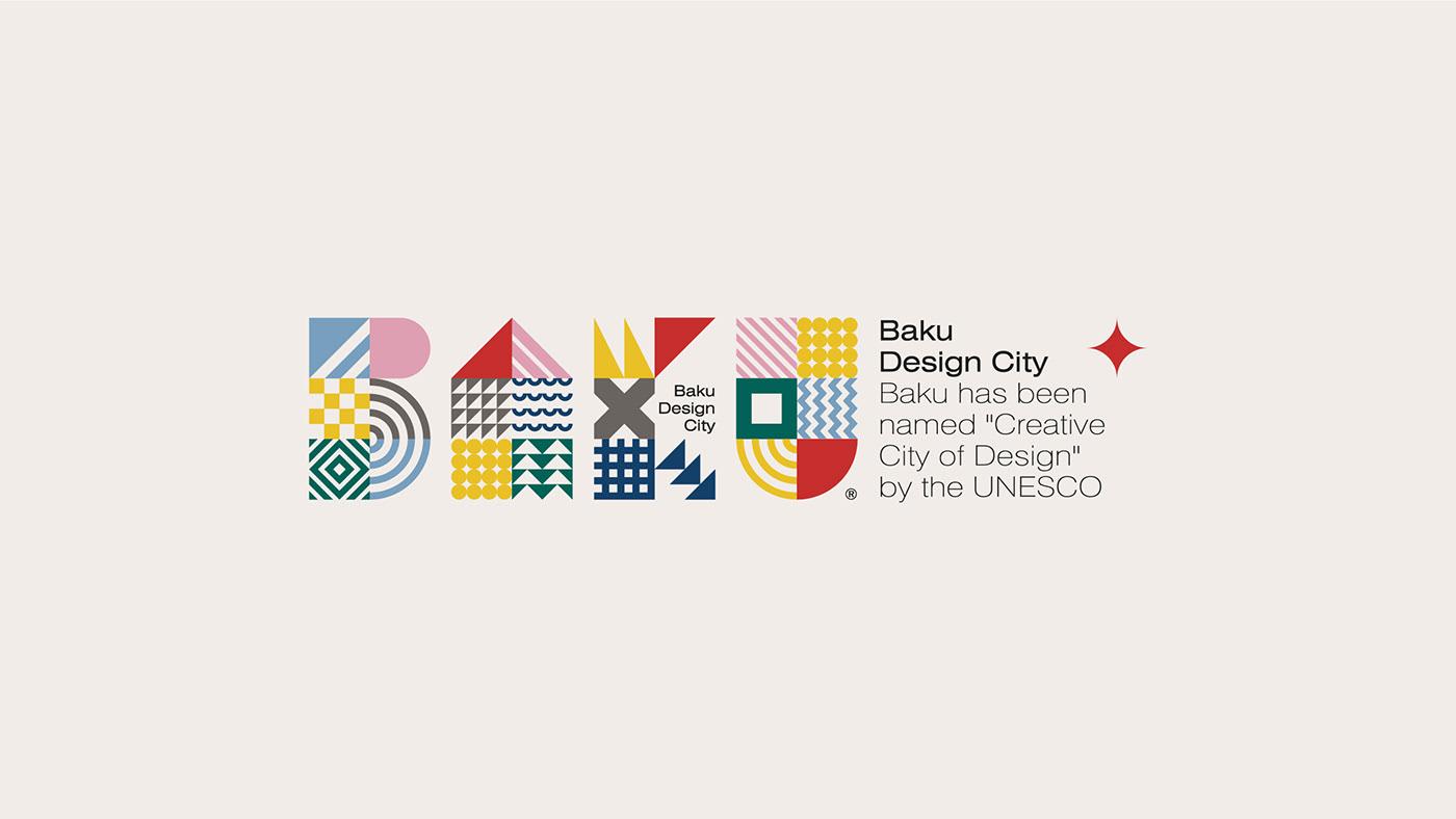 国际品牌包装设计分享|巴库城市品牌形象设计欣赏