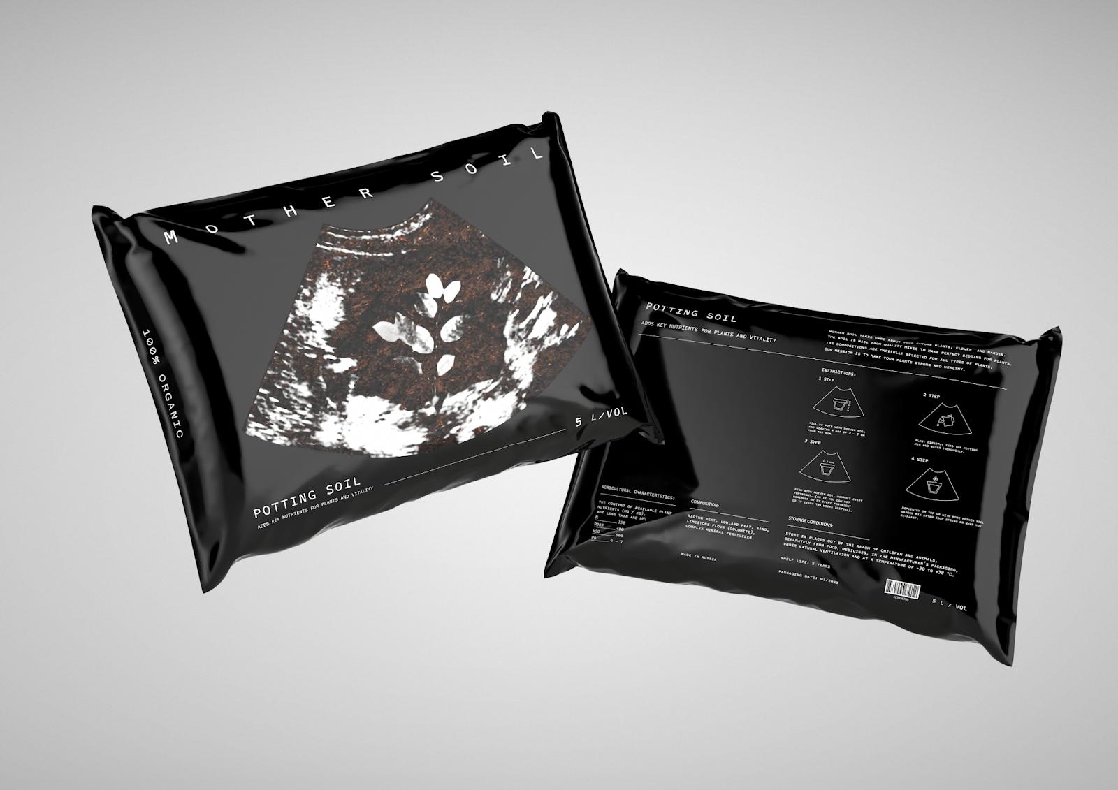 北京包装设计公司分享:营养土包装设计