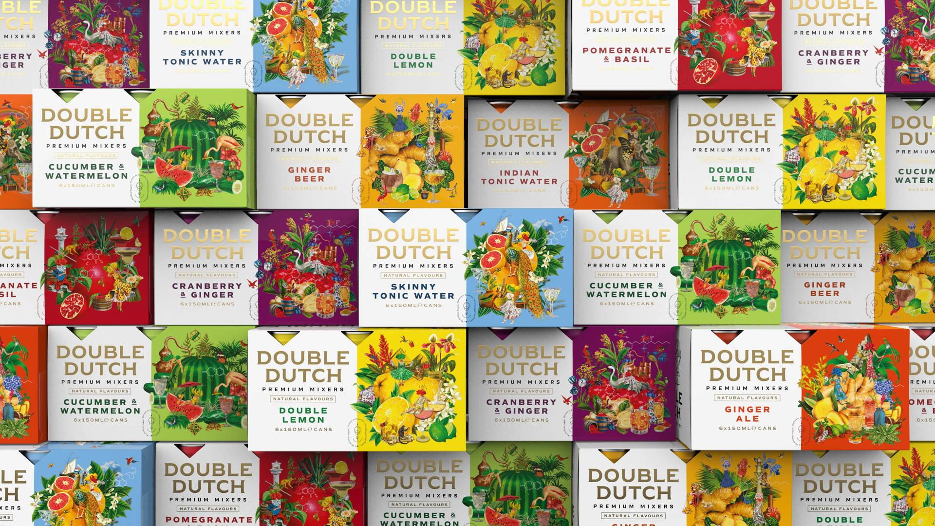 Double Dutch著名调酒饮品包装设计