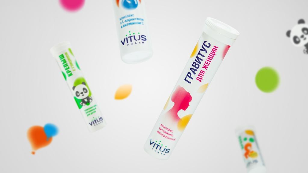 Vitus维生素包装设计#维生素品牌