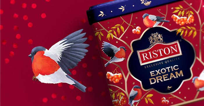 遇见更美的RISTON时尚红茶叶包装设计