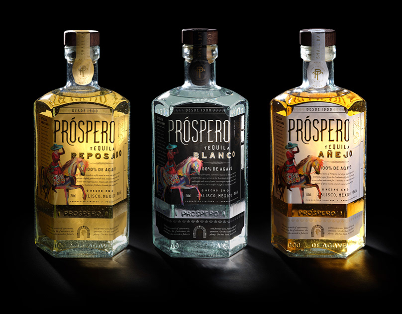Rate La Progresiva 13酒包装设计