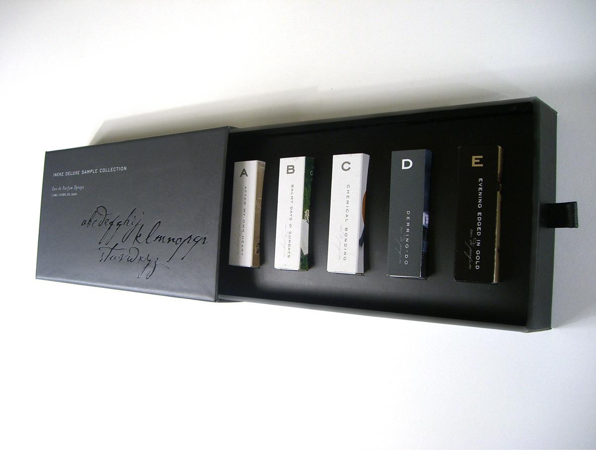 火柴盒香水包装设计