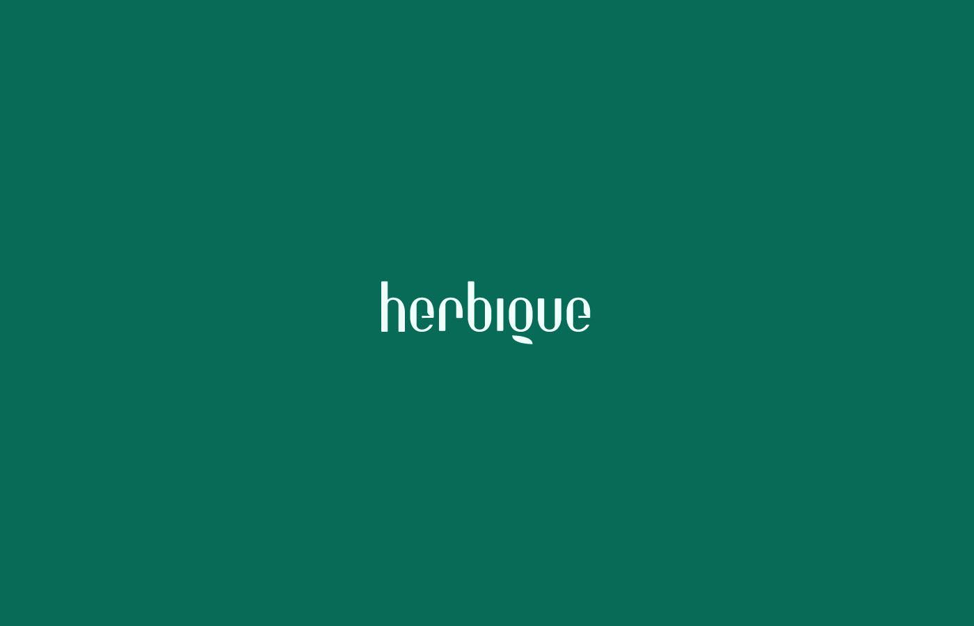 ?Herbique天然护肤品包装设计