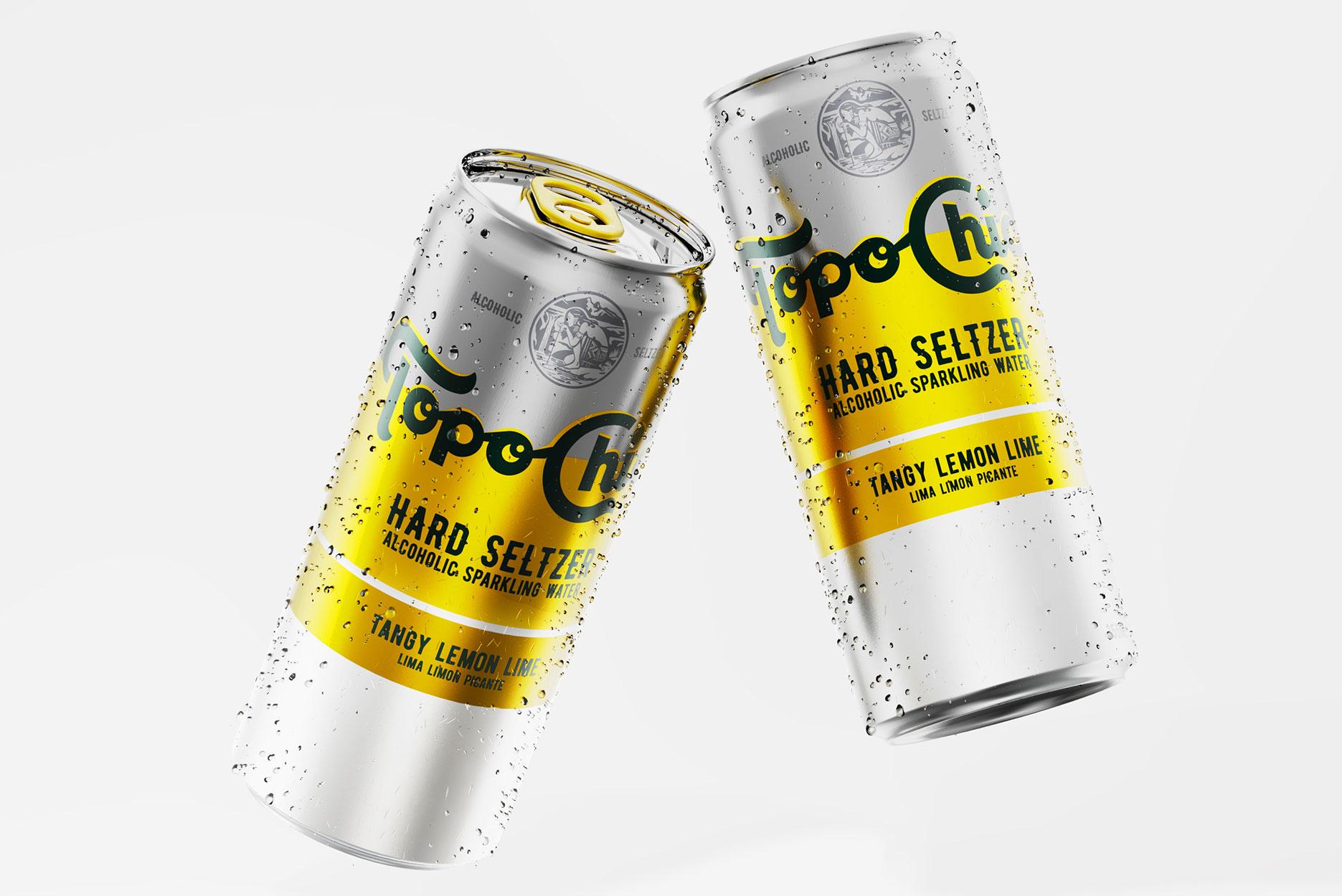 可口可乐公司的Topo Chico实验性饮料包装设计(墨西哥气泡矿泉水包装设计)