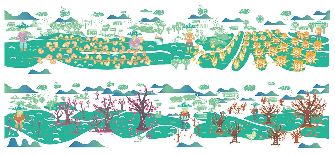 台湾凤梨包装设计