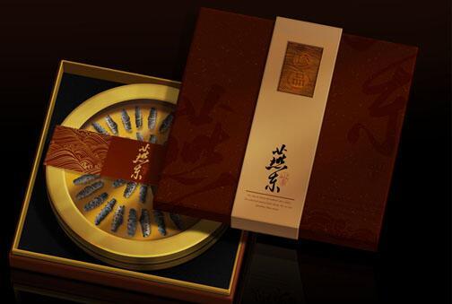 燕东 高档海参礼盒包装设计
