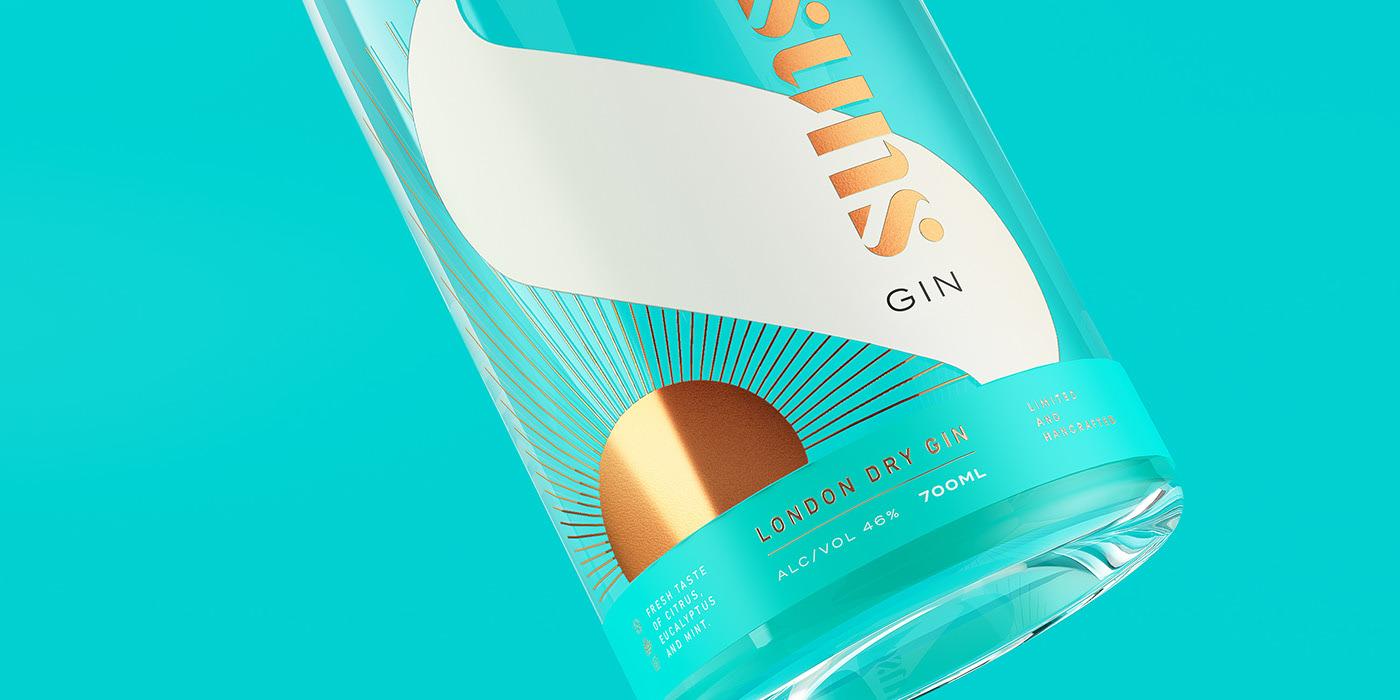 Sunset Gin酒包装设计
