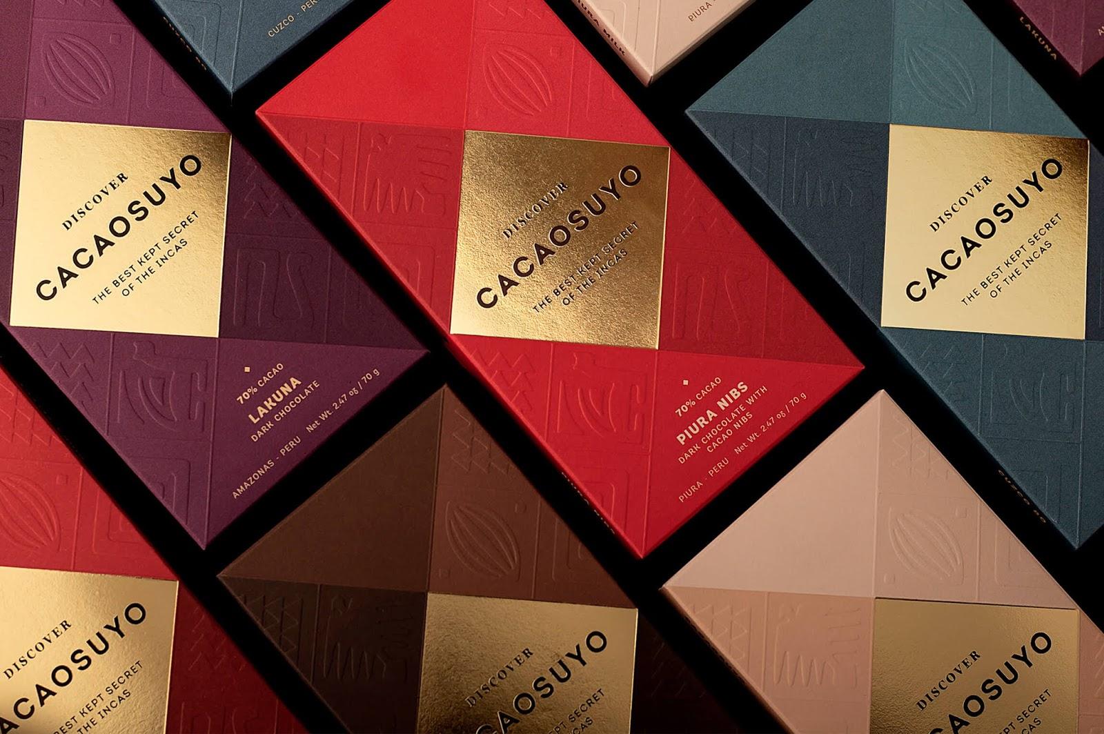 Cacaosuyo巧克力包装设计欣赏