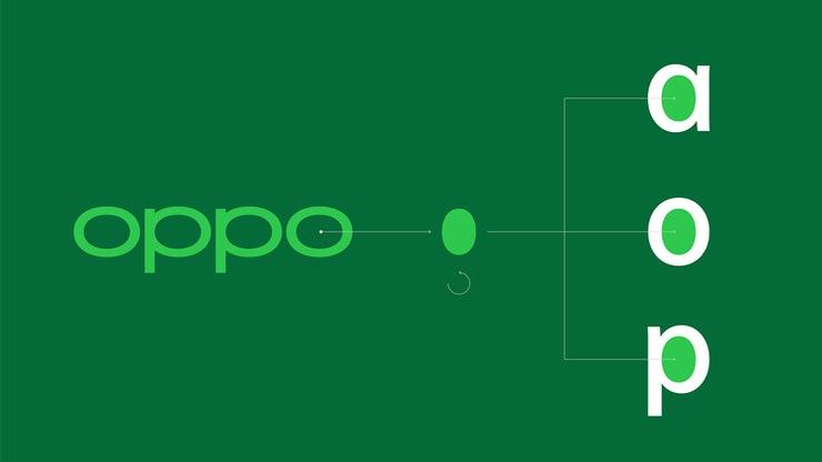 OPPO新的品牌标识设计