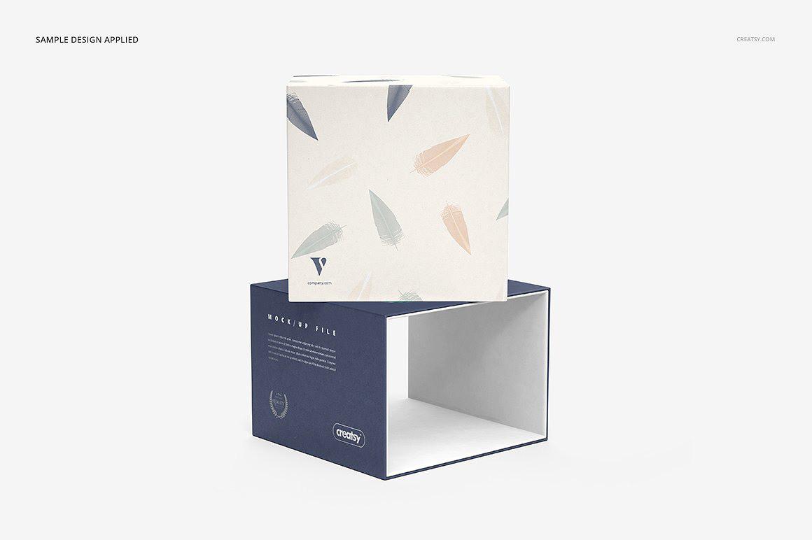Creatsy抽拉式礼盒包装设计创意表现