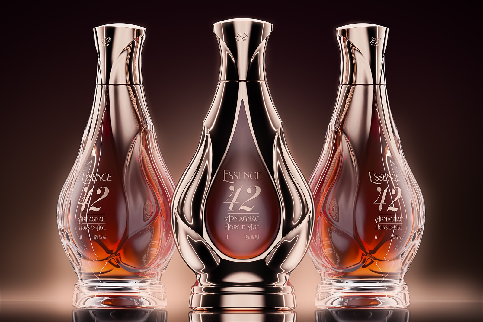Essence 42酒包装设计&瓶型设计