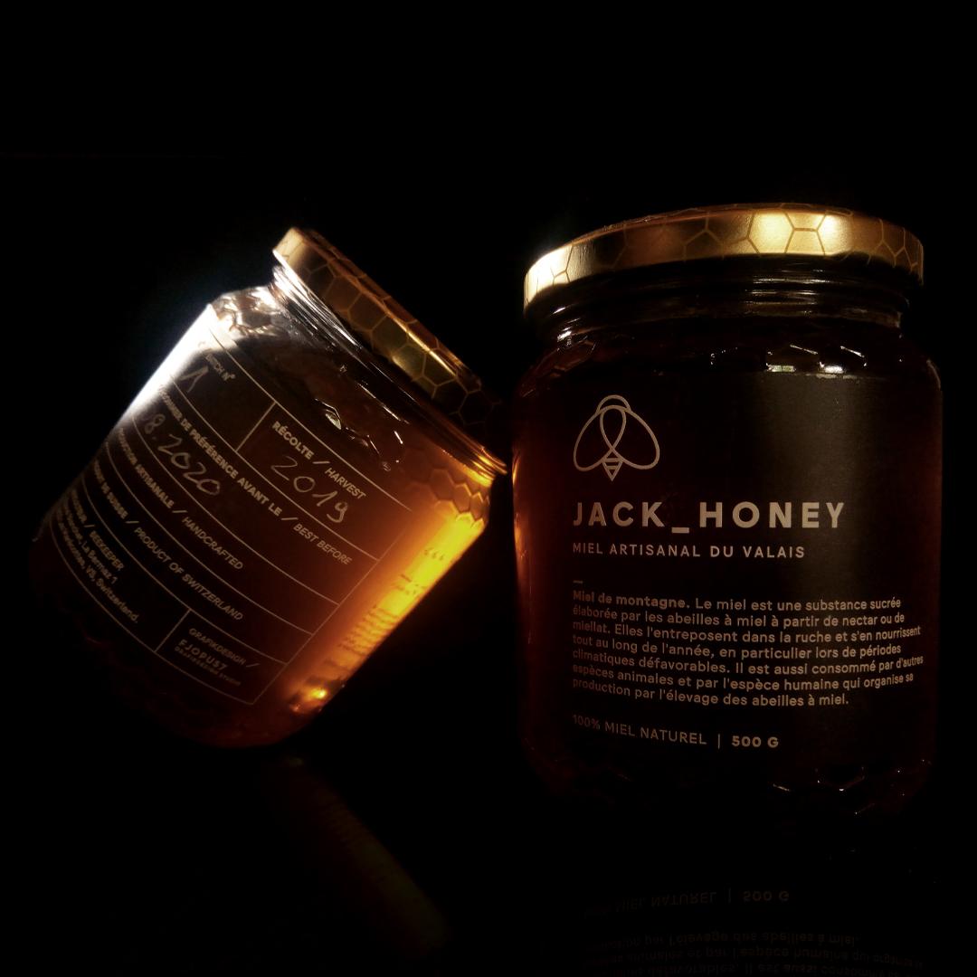 JACK_HONEY蜂蜜品牌与包装设计