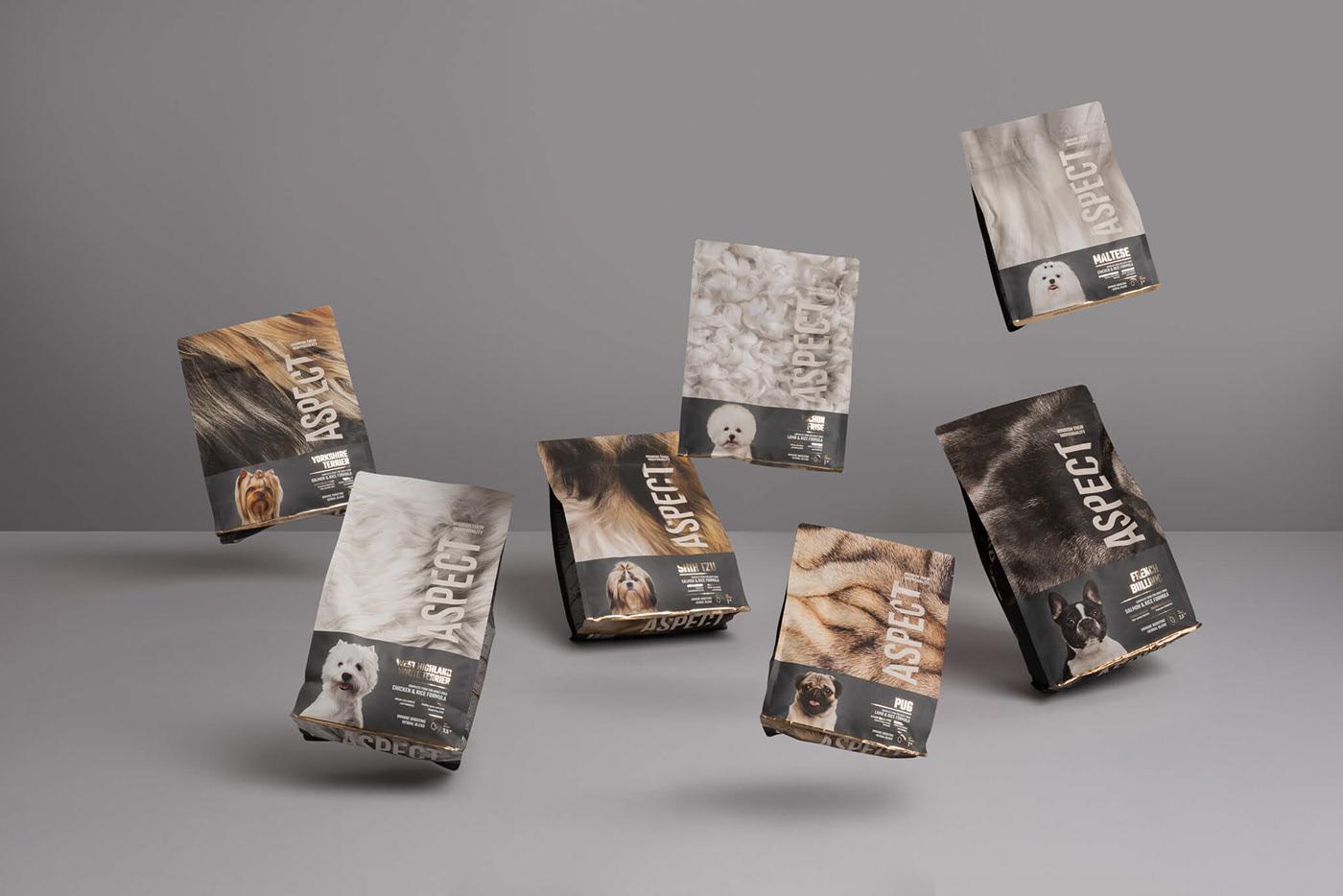 狗粮包装设计给消费者带来一份温暖