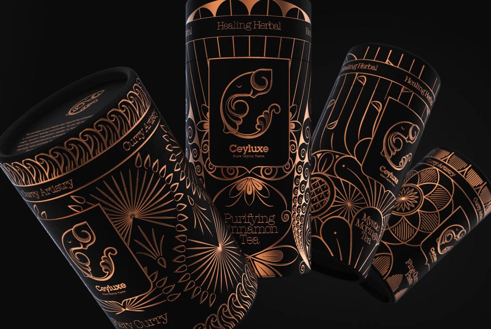 纸罐凉茶包装设计欣赏