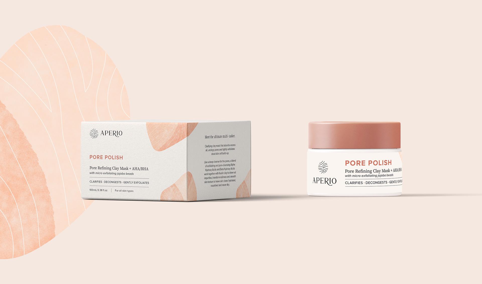 Aperio Skincare护肤品牌与包装设计