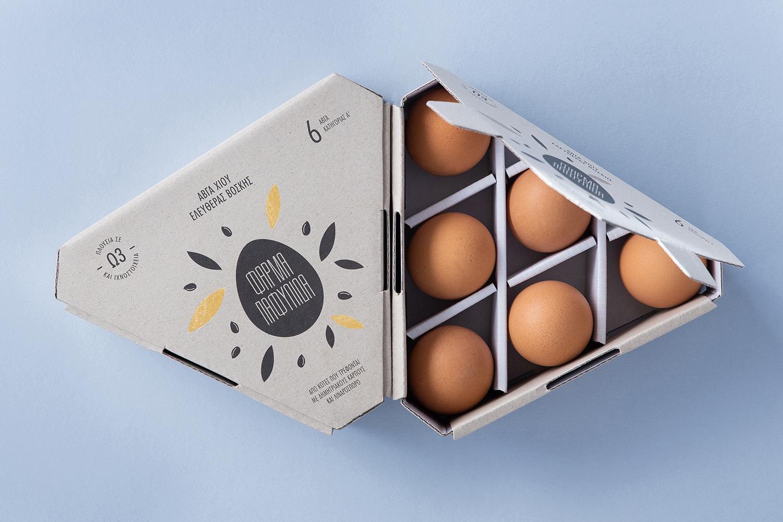 独特的鸡蛋包装设计符合当代农产品包装设计创新思路