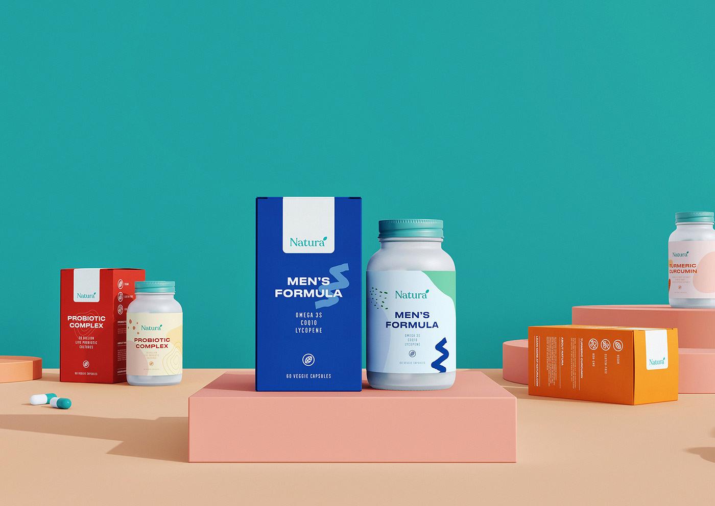 Natura - 保健品品牌&包装设计(如何元素提炼及色彩定位)