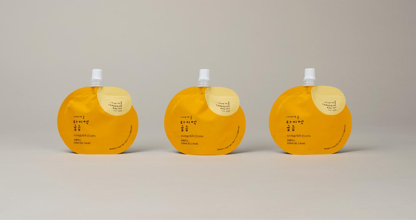 橘子果汁包装设计