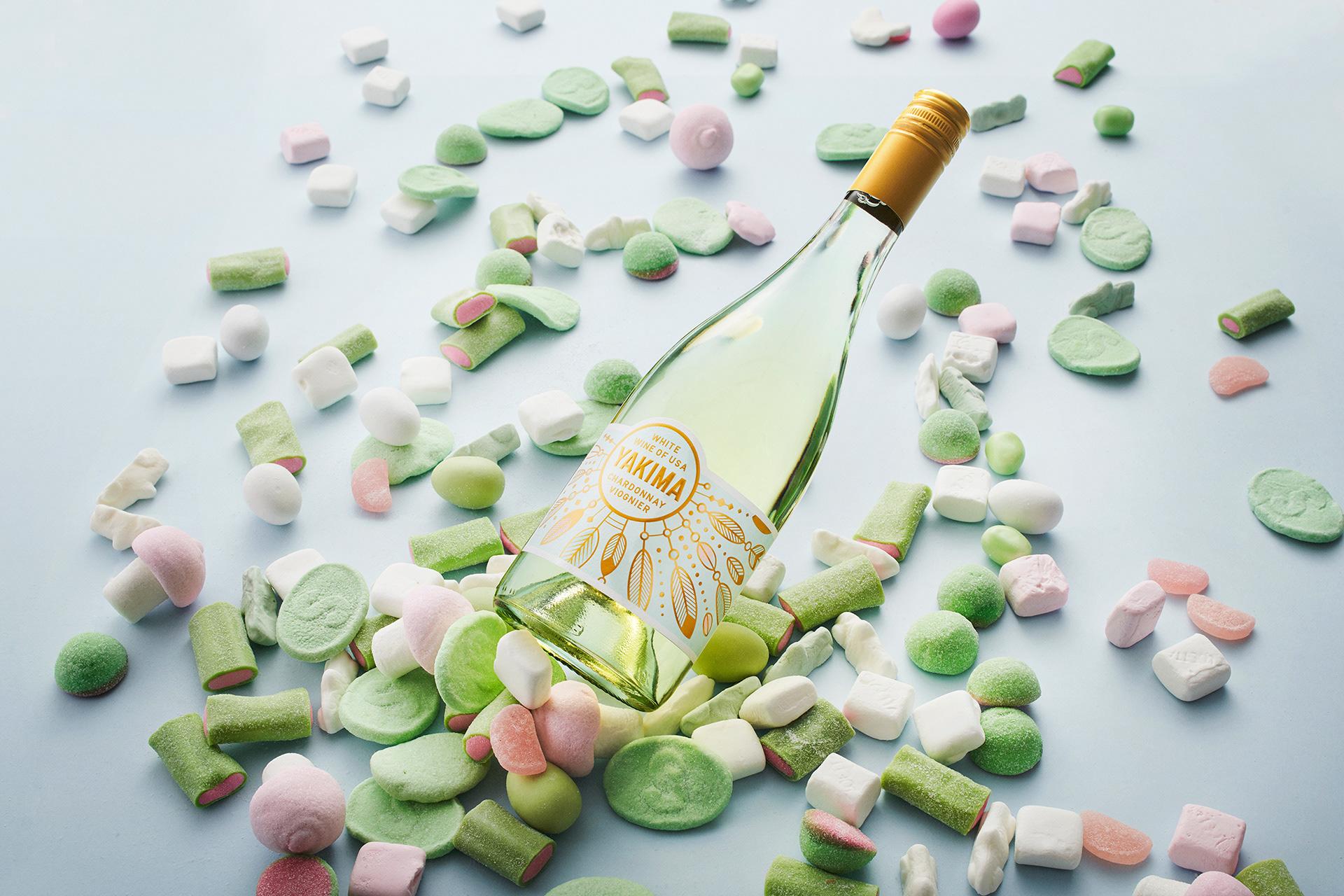 优秀的白葡萄酒包装设计