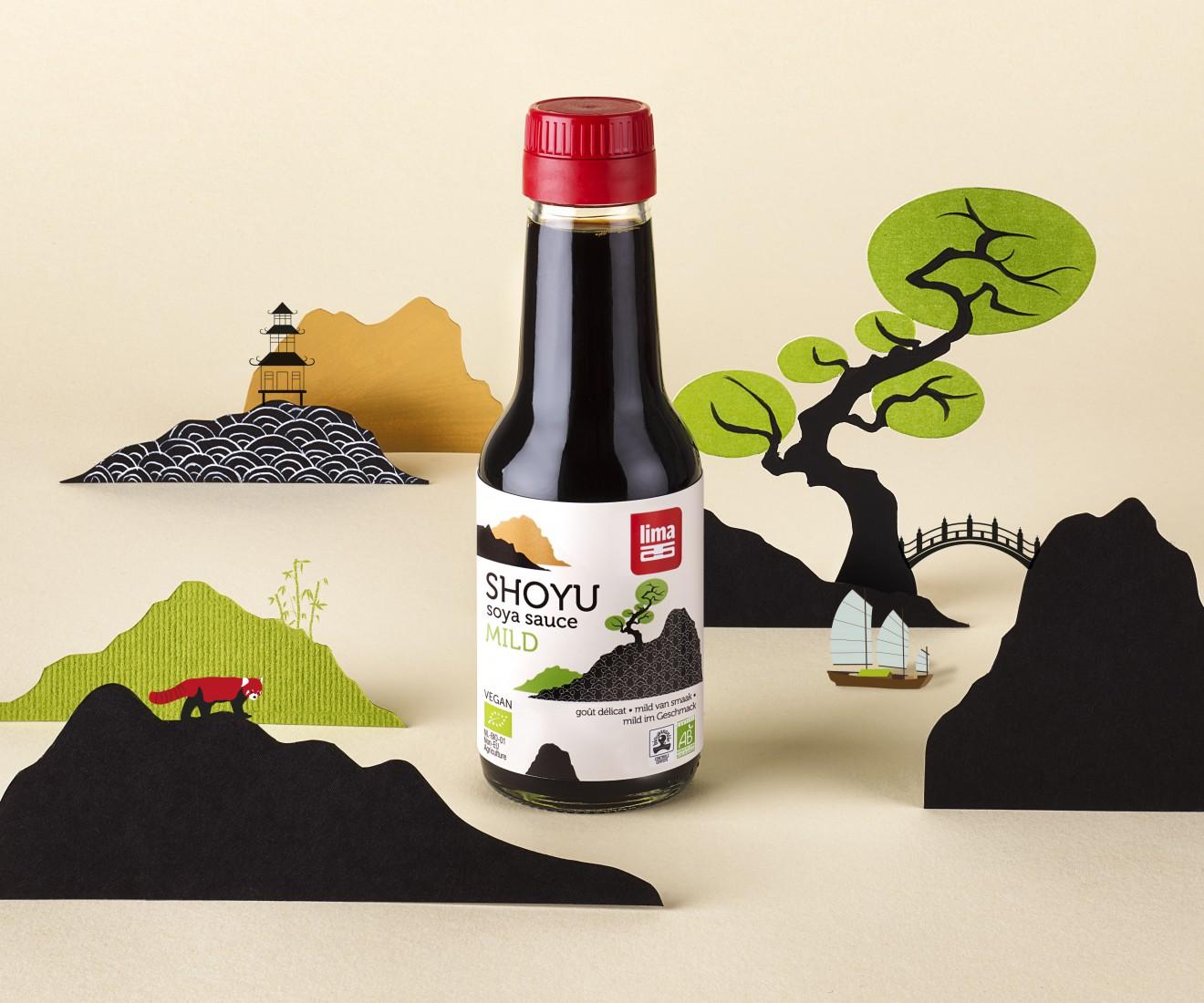 Lima酱油包装设计