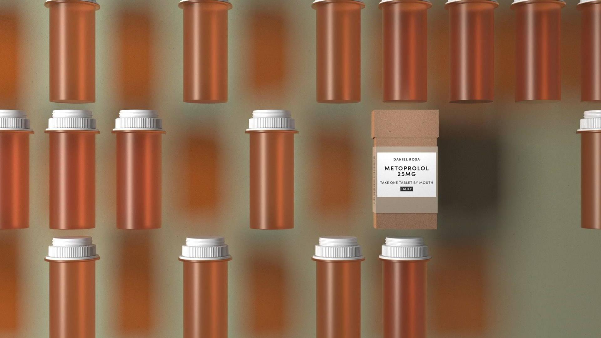 新的处方药包装设计瞄准药品柜中的塑料瓶