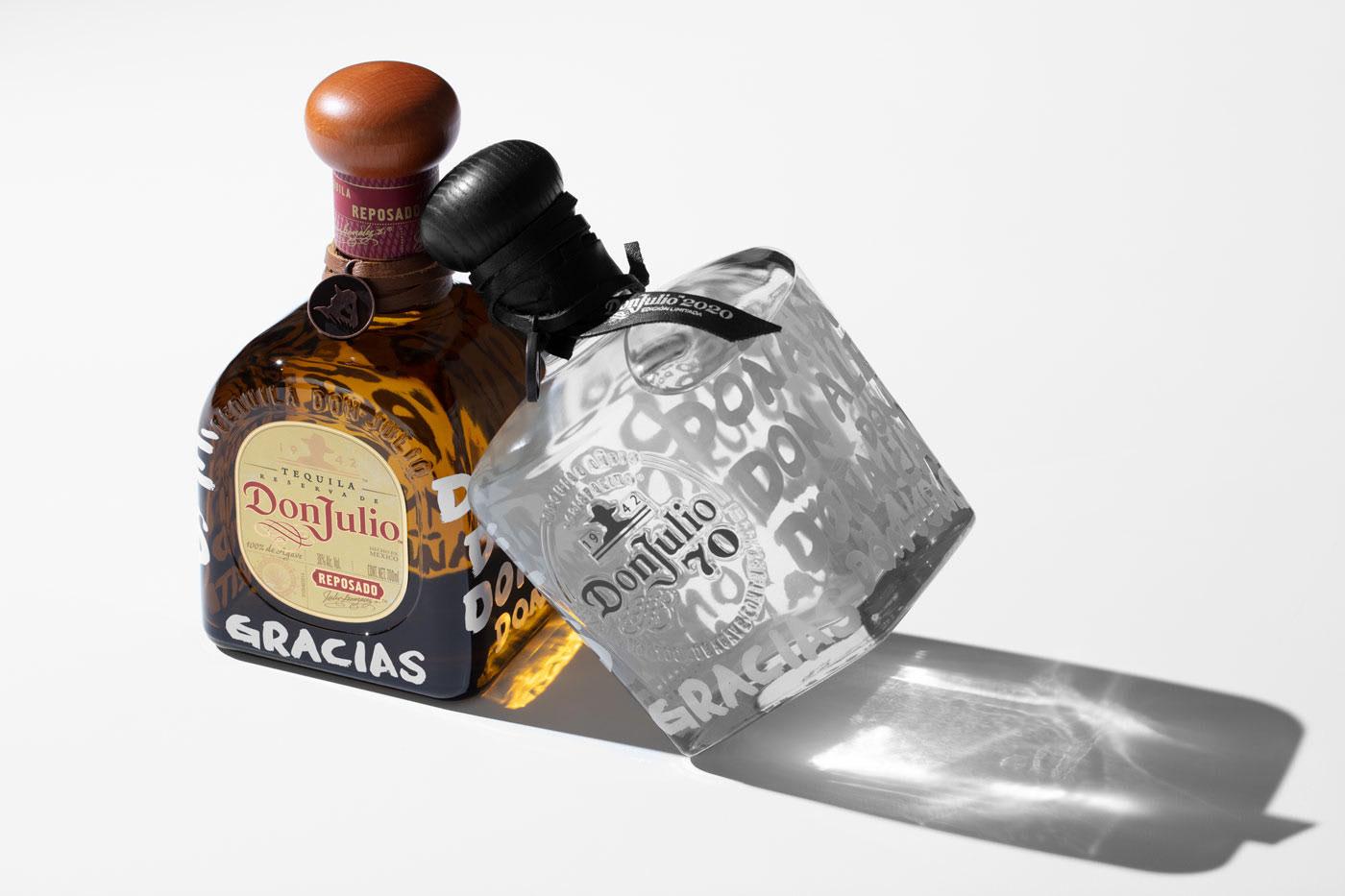 限量版龙舌兰酒包装设计—Tequila Don Julio