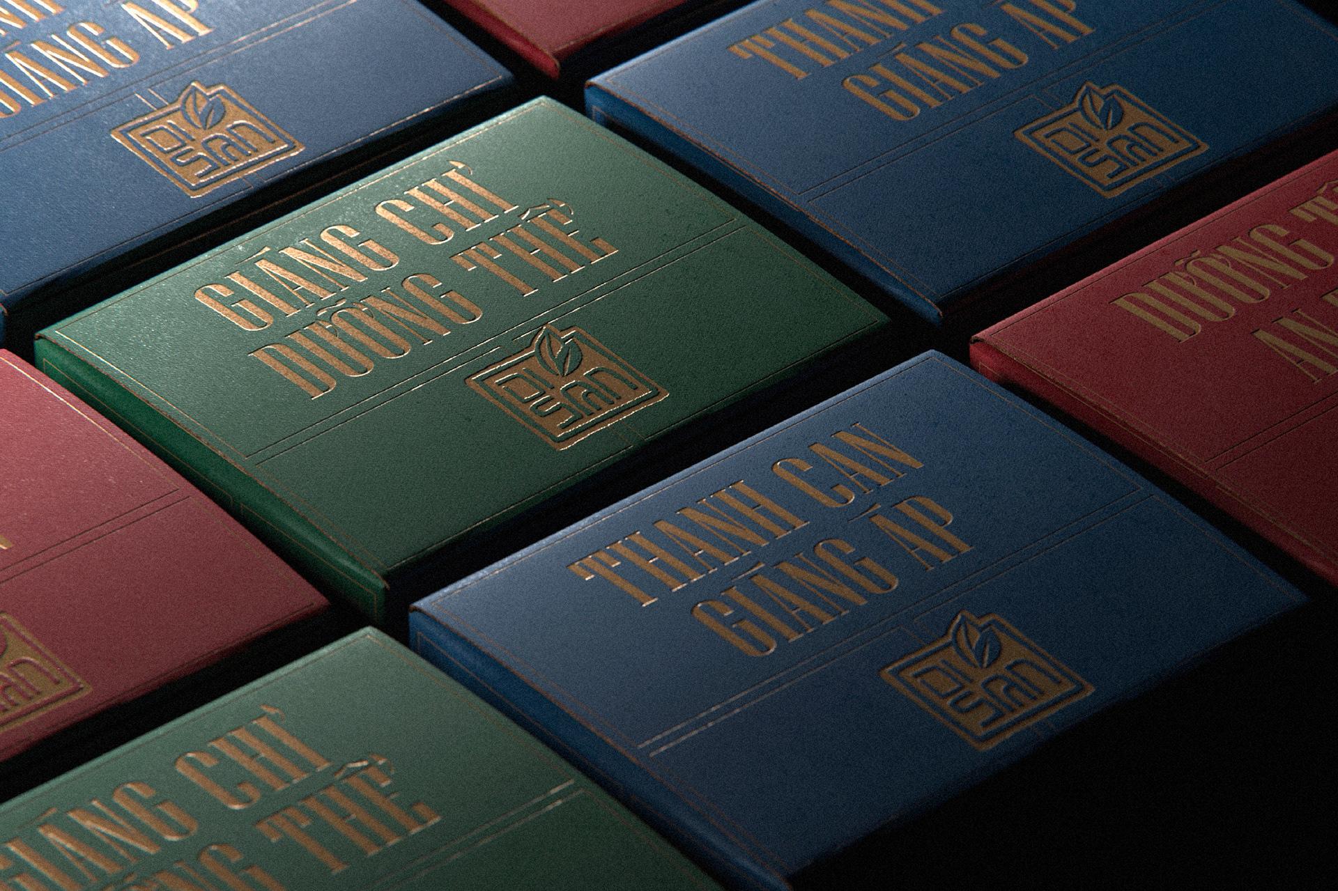 国际包装设计分享|Royal Herbal Tea茶叶包装设计