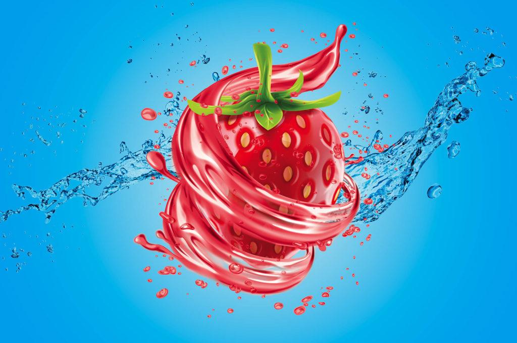 更诱人的儿童草莓味牙膏包装设计