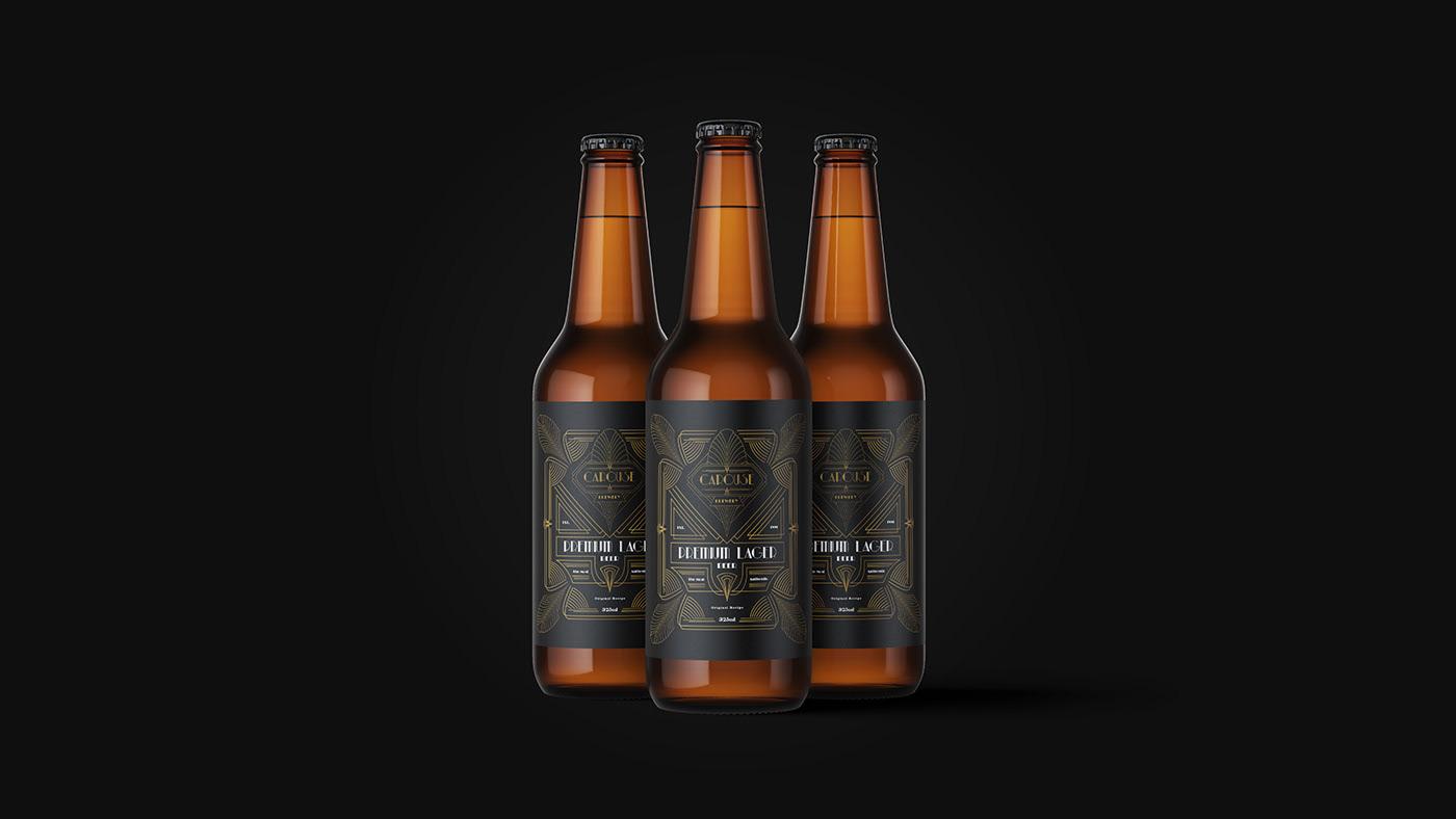 Carouse啤酒品牌包装设计
