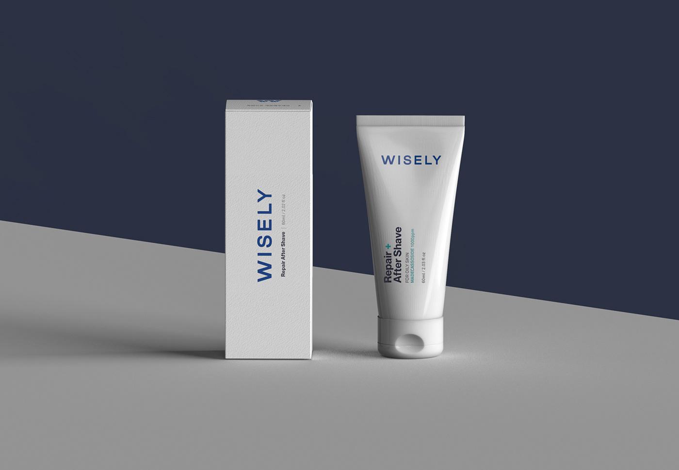 北京包装设计分享|白色极简风的化妆品包装设计创意