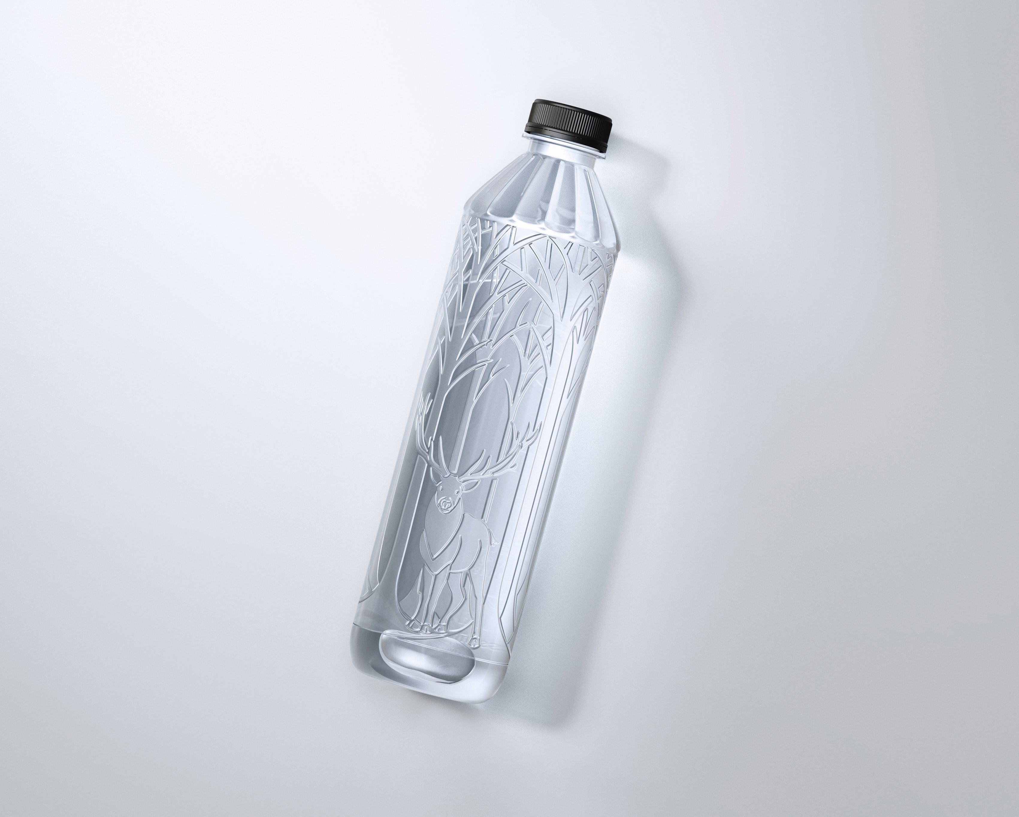 亚洲包装设计 |无标签矿泉水包装设计创意欣赏