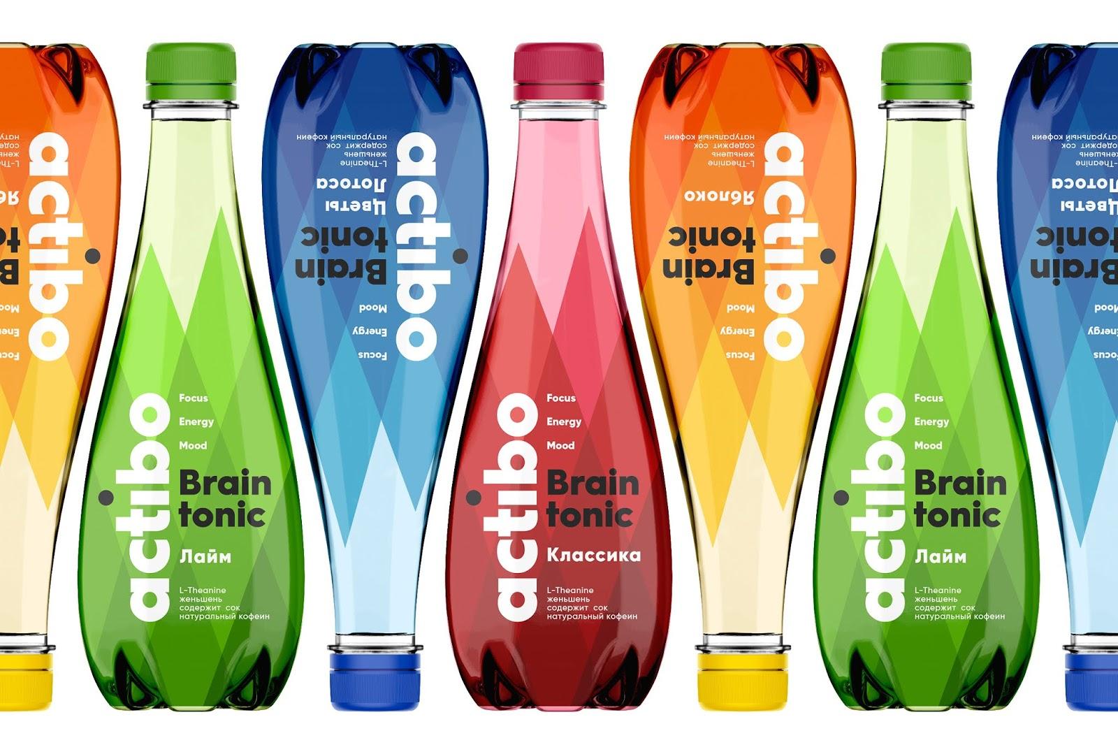Actibo Brain Tonic饮料包装设计