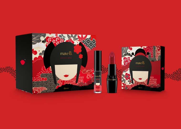 日本风格的口红包装设计分享