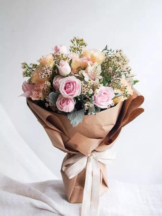 花束包装设计欣赏