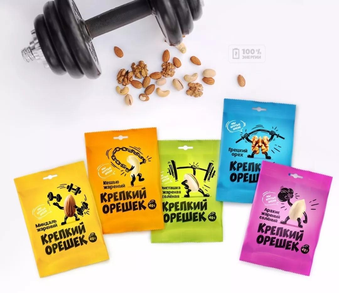 休闲食品包装设计分享