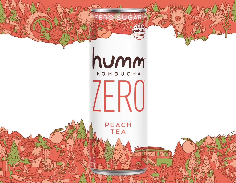 Humm康普茶品牌包装设计