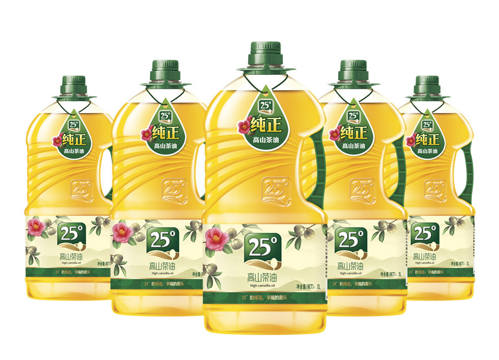 广东宝华农科有机度山茶油系列包装设计