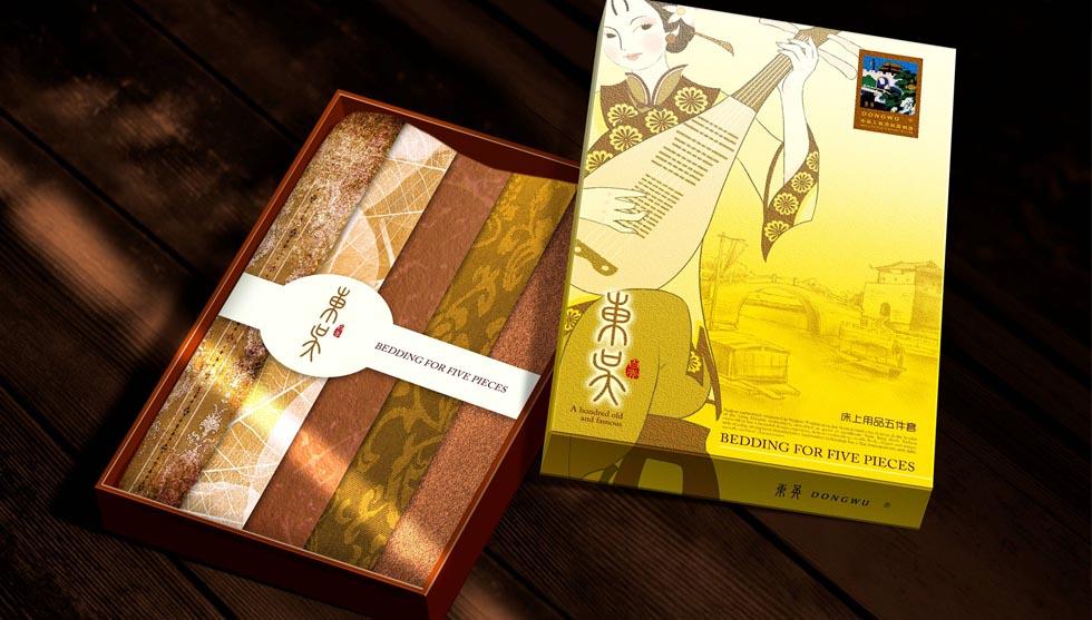 东吴家纺组合礼盒包装设计