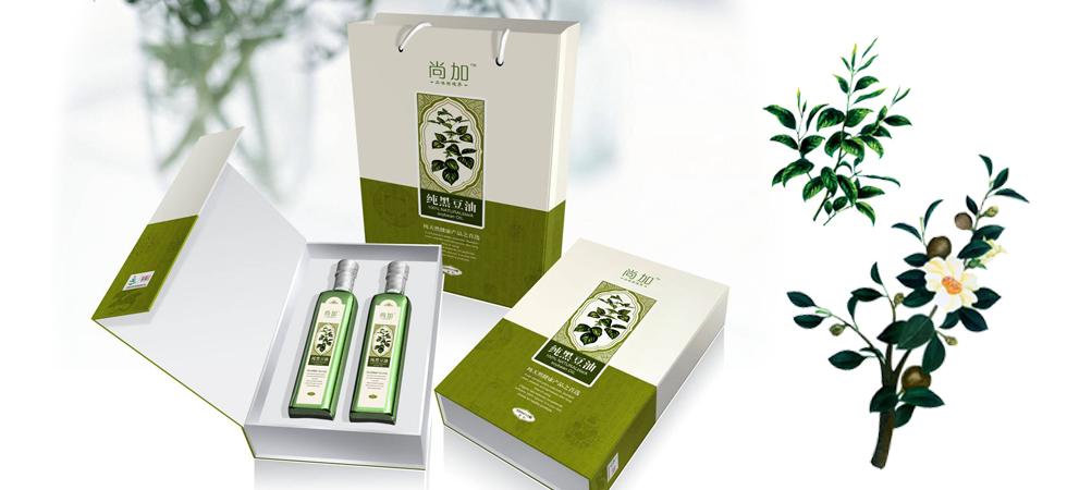 尚佳 时尚油品系列礼盒包装设计