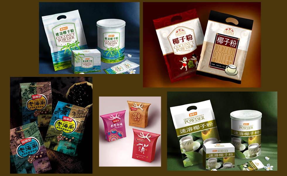 海风堂椰果产品系列包装设计