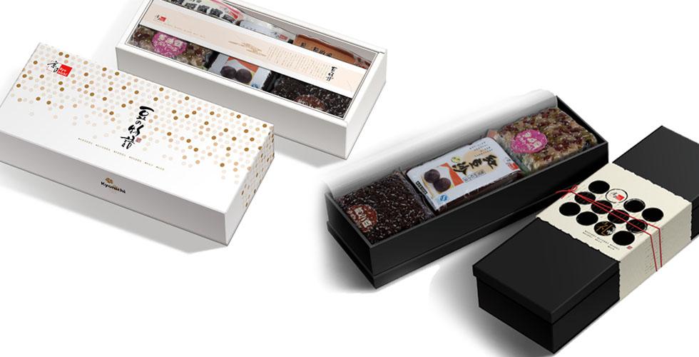 京日东大 日本蜜豆礼盒包装设计