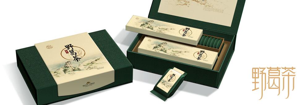野葛茶 健康茶叶包装设计_西林设计(西林包装设计)