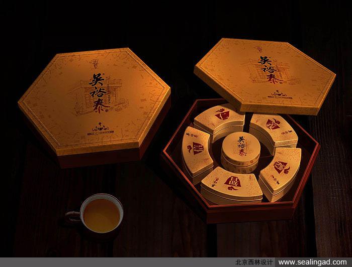 吴裕泰 全产品包装设计与规划