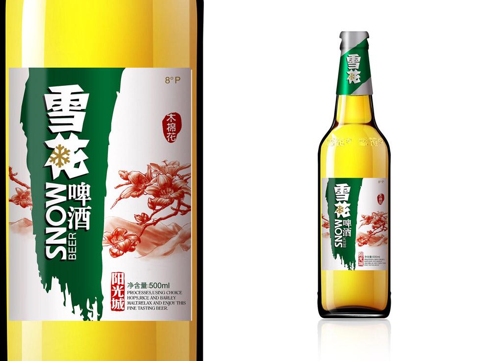 雪花啤酒 自然之美四川風景系列